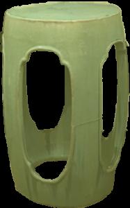 Chesterdales green vase